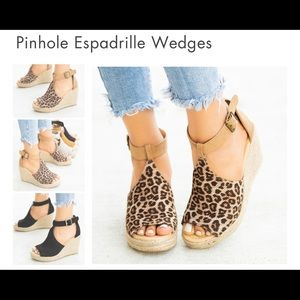 City Classified Espadrille Wedges